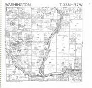 Washington T33N-R7W, Rusk County 1985